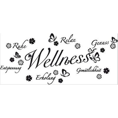Klebefieber Wellness-Floral Wall Sticker