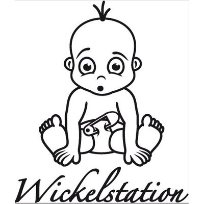 Klebefieber Wickelstation Wall Sticker