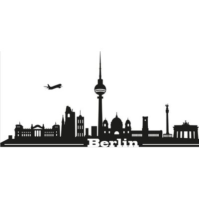 Klebefieber Berlin Skyline Wall Sticker