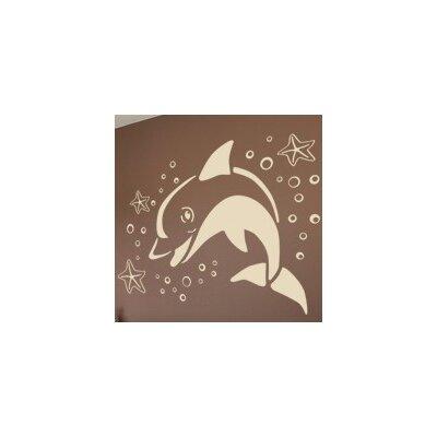 Klebefieber Springender Delfin Wall Sticker