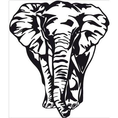 Klebefieber Grosser Elefant Wall Sticker