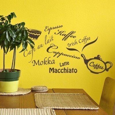 Klebefieber Kaffeesorten Wall Sticker