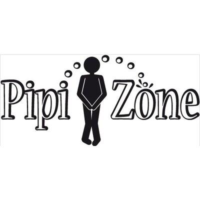 Klebefieber Pipi Zone Wall Sticker