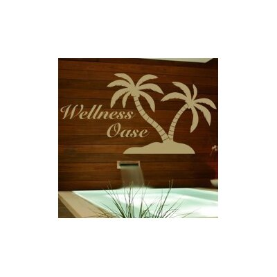 Klebefieber Wellness-Oase Wall Sticker