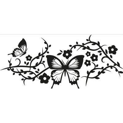 Klebefieber Schmetterlingsgeflecht Wall Sticker