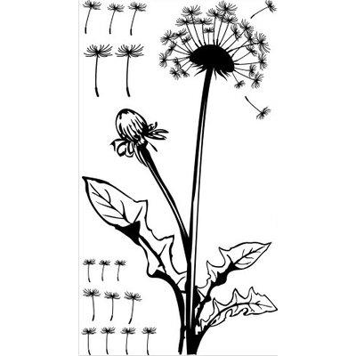 Klebefieber Pusteblume mit Blättern Wall Sticker