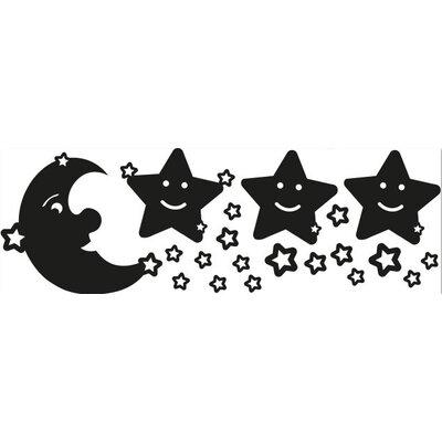 Klebefieber Mond und Sterne Wall Sticker Set