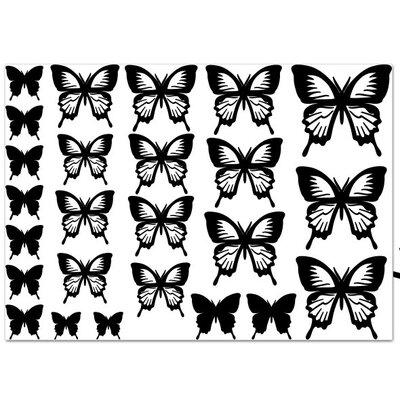 Klebefieber Viele Schmetterlinge Wall Sticker