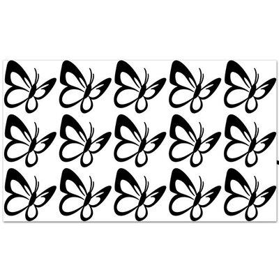 Klebefieber Schmetterling Set Wall Sticker