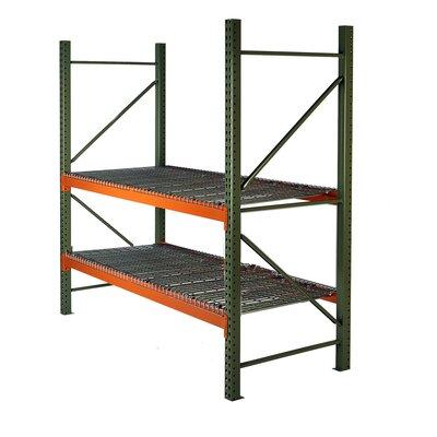 """Pallet Two Shelf Shelving Unit Starter Size: 96"""" H x 102"""" W x 36"""" D"""