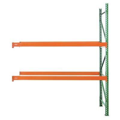 "Pallet Adder Two Shelf Shelving Unit Starter Size: 144"" H x 126"" W x 42"" D"