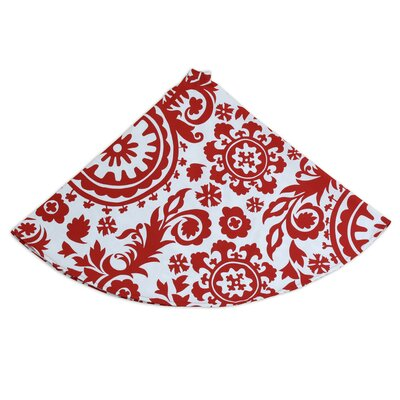 Brite Ideas Living Suzani Hemmed Tree Skirt