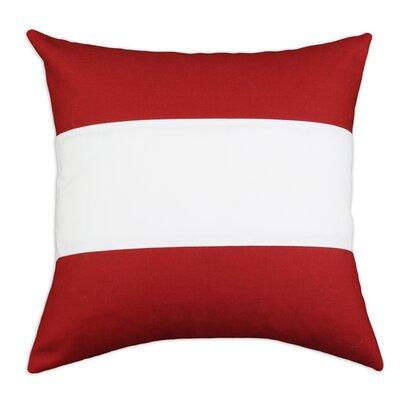 Brite Ideas Living Nile Poppy Duck Linen Throw Pillow