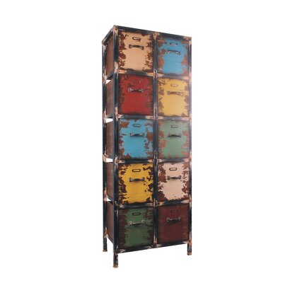 10 Drawer Vertical Accent Chest