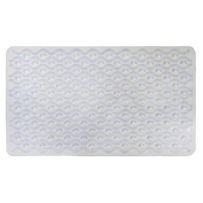 Non-Slip Wave Bath Mat Color: White
