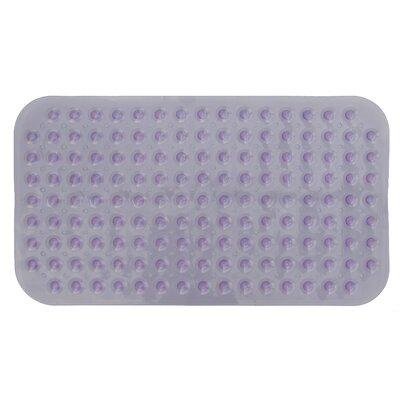 Non-Slip Shower Mat Color: Purple