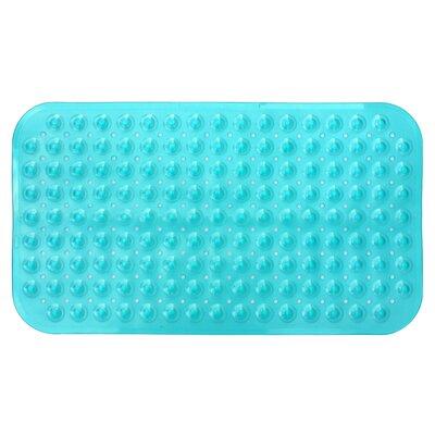 Non-Slip Shower Mat Color: Teal