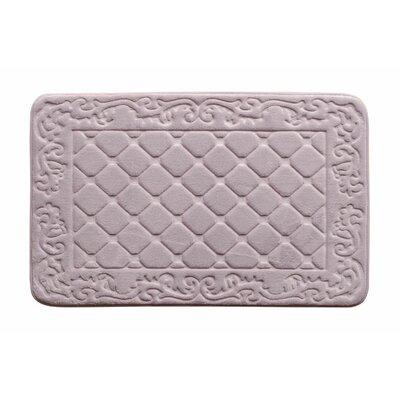 Memory Foam Bath Rug Color: Lavender