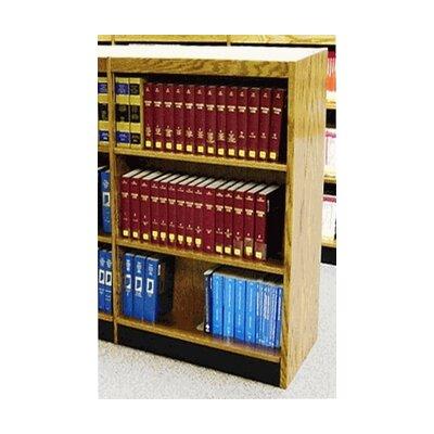 "Single Face Shelf Standard Bookcase Finish: Butternut, Size: 48"" H x 37.75"" W x 12"" D"