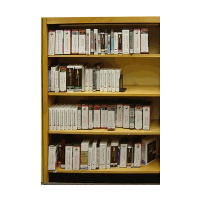 "Single Face Shelf Adder With Back Standard Bookcase Size: 60"" H x 36"" W x 8"" D, Finish: Dark Mahogany"