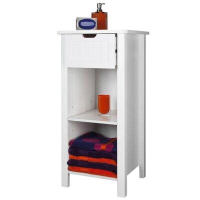 Interior White Sennen 40 x 83cm Freestanding Cabinet