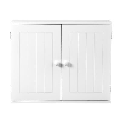 Interior White Pendeen 50 x 60cm Wall Mounted Cabinet