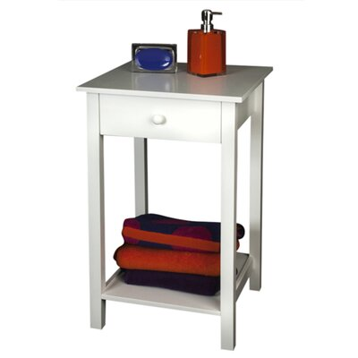 Interior White Newlyn Side Table