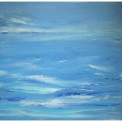 Angela Rose Gallery Ultramarine Sky Art Print on Canvas