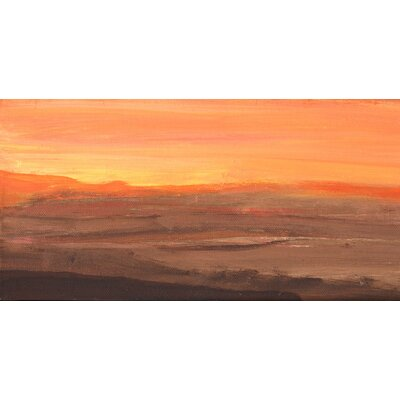 Angela Rose Gallery Sunset Art Print Wrapped on Canvas