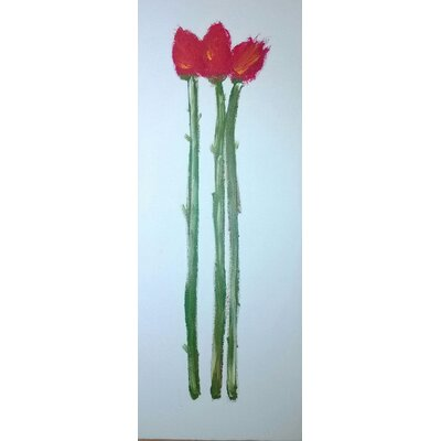 Angela Rose Gallery Tulip Canvas Art Print Wrapped on Canvas