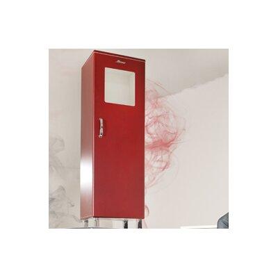 Miami 1 Door Storage Cabinet Finish: Red