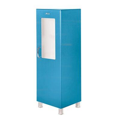 Miami 1 Door Storage Cabinet Finish: Blue