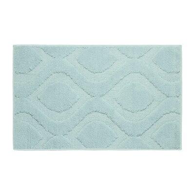 """Plush Bath Mat Size: 24"""" x 17"""", Color: Linen"""