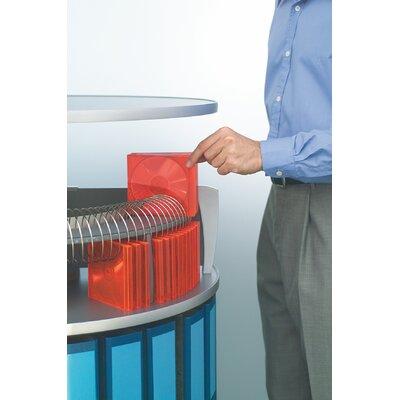 Moll CD/DVD Organizer for Deluxe Binder & File Carousel Shelving