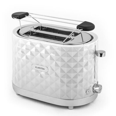 Klarstein Toaster Granada Bianca 2 Slice 1000W
