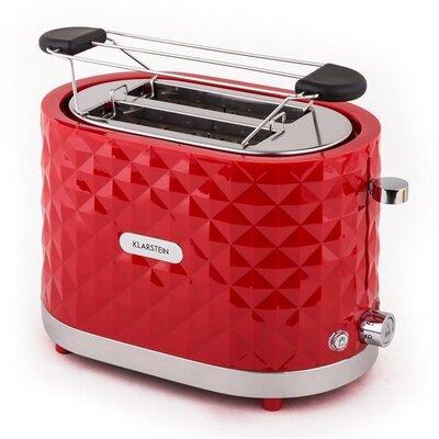 Klarstein Toaster Granada Rossa 2 Schlitze 1000W