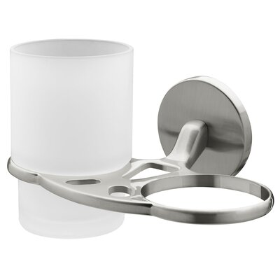 Bisk Virginia Double Tumbler and Holder
