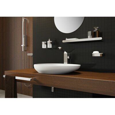 Bisk Futura Wall Mounted Toilet Roll Holder
