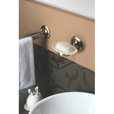 Bisk Deco A.B. Ceramic Wall Mounted Toilet Brush Holder