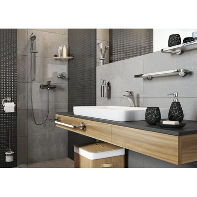 Bisk Ventura 43.3cm Wall Mounted Double Towel Rail