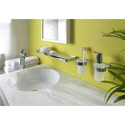 Bisk Natura Wall Mounted Toilet Roll Holder