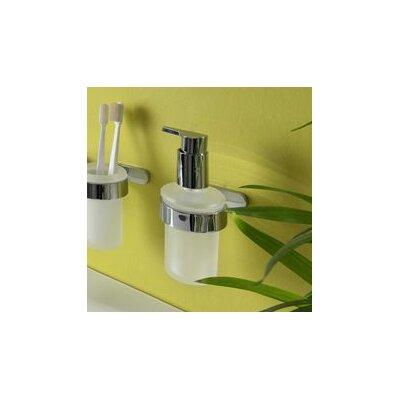 Bisk Natura 2 Piece Soap Dispenser with Holder Set