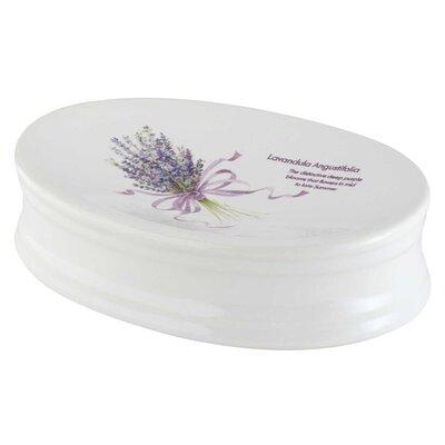 Bisk Lavender Soap Dish