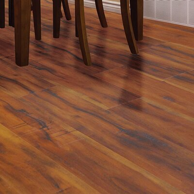 """Timeless Revolution 6.5"""" x 48"""" x 12mm Canadian Maple Laminate Flooring in Grand Pebble"""