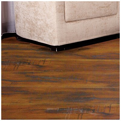 """Timeless Revolution 6.5"""" x 48"""" x 12mm Canadian Maple Laminate Flooring in Iron Gate"""