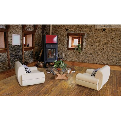 "Cottage 6.5"" x 48"" x 12mm Various Laminate Flooring in Pecan"