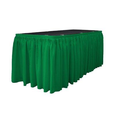 Table Skirt Color: Jade