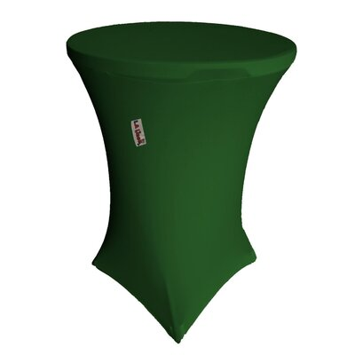 "Round Table Cloth Color: Emerald Green, Size: 36"" W x 36"" L"