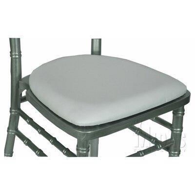 Legacy Wood Base Fabric Seat Pad Finish: White