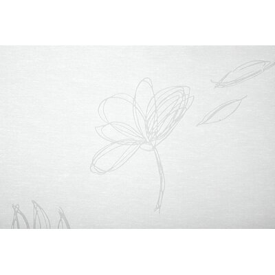 My Deco Flächenvorhang Flower
